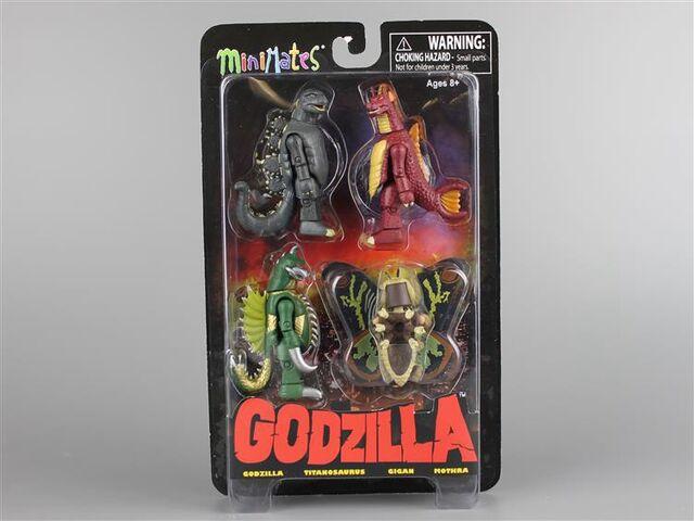 File:Godzilla Minimates Goji, Titano, Gigan, Mothra.jpg