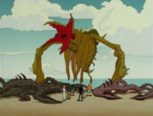File:Godzilla The Series - Monsters - Crustaceous Rex.png
