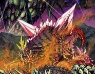 RoE Space Godzilla Trilopod