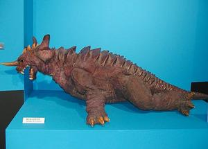 File:GMK Baragon suit in 2002.jpg