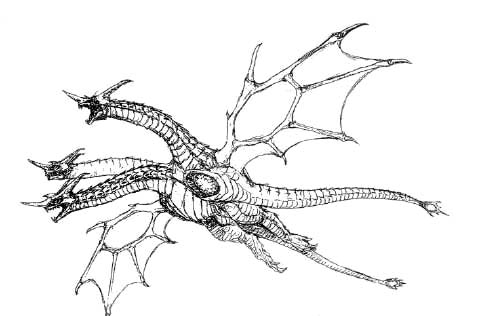 File:Concept Art - Rebirth of Mothra - Desghidorah 14.png