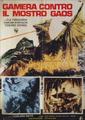 Gamera - 3 - vs Gyaos - 99999 - 5 - Italian Poster