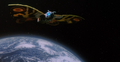 Godzilla And Mothra The Battle For Earth - - 12 - Mothra in space