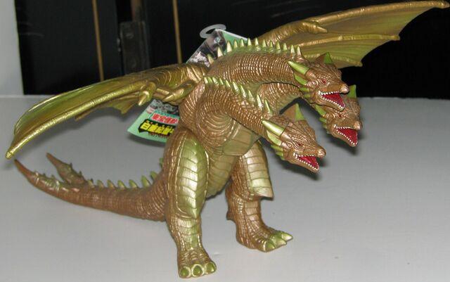 File:Bandai Japan Toho Kaiju Series - Cretaceous Ghidorah.jpg