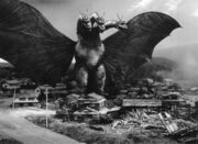 Black and White King Ghidorah ShodaiGhido