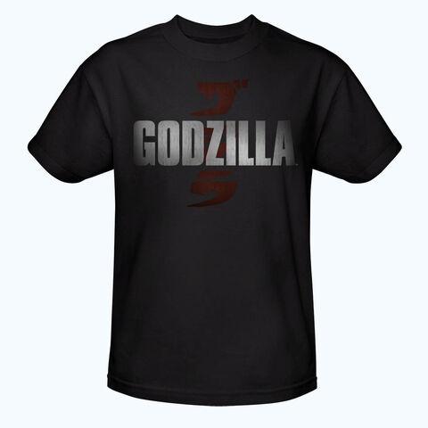 File:Godzilla 2014 Merchandise - Clothes - Godzilla Logo Black Shirt.jpg