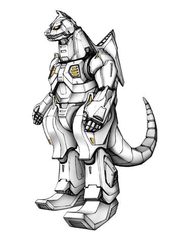File:Concept Art - Godzilla Against MechaGodzilla - Kiryu 35.png