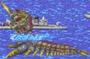 Godzilla Arcade Game - Battra Larva
