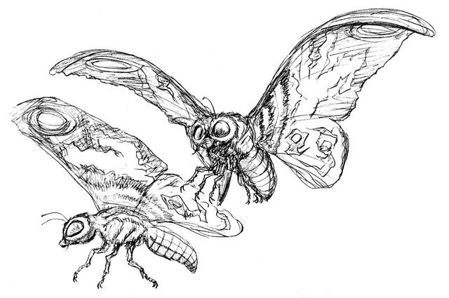File:Concept Art - Godzilla Tokyo SOS - Mothra Imago 4.png