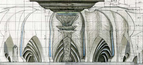 File:Concept Art - Godzilla Final Wars - Xilien Mothership Main Hall 3.png