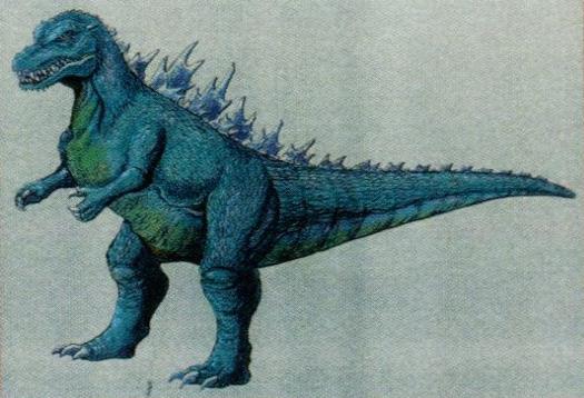 File:Concept Art - Godzilla vs. Destoroyah - Godzilla Junior 16.png