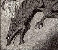 Gamera vs. Barugon Manga - Gyaos