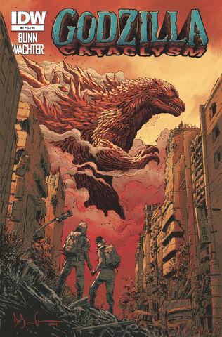 File:Godzilla Cataclysm Issue 1.jpg