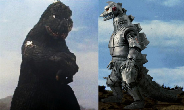 File:Fake Godzilla and Original MechaGodzilla.png