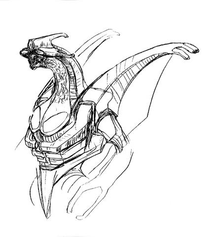 File:Concept Art - Godzilla 2000 Millennium - Orga 42.png