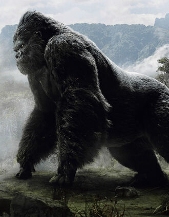 King Kong as he is seen in King Kong (click to enlarge)