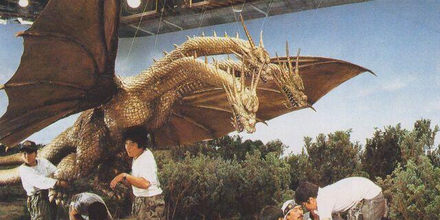 File:GVKG - Preparing King Ghidorah Stomping Scene.jpg