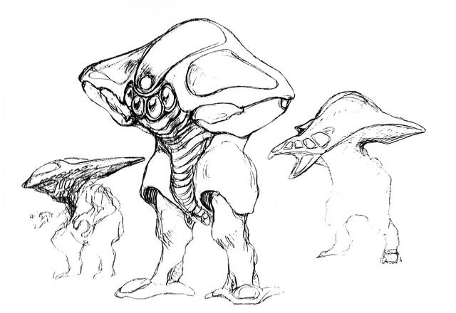File:Concept Art - Godzilla 2000 Millennium - Orga 37.png