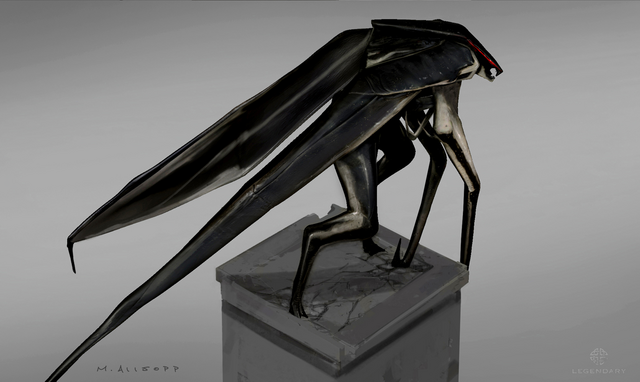 File:Concept Art - Godzilla 2014 - Winged MUTO 6.png