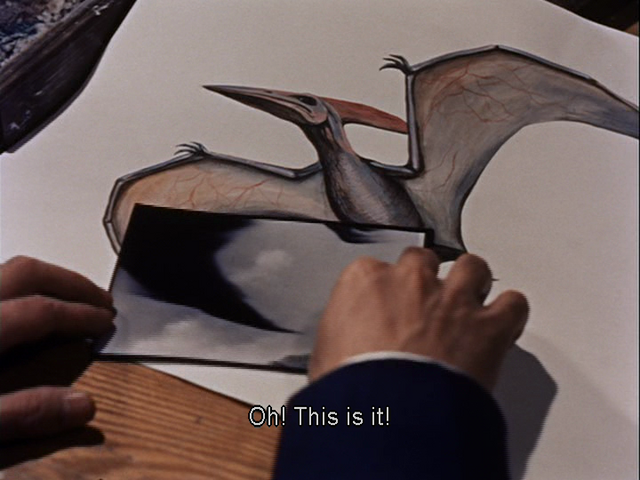 File:Two portrait of Pteranodon and a Rodan's wing and feet.png