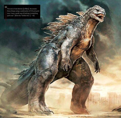 File:Concept Art - Godzilla 2014 - Godzilla 8.jpg