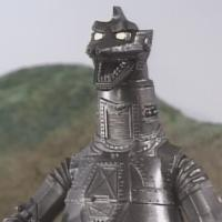 Black MechaGodzilla as it is seen in Godzilla Island