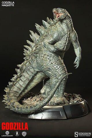 File:Sideshow Collectibles 24-inch Godzilla 2014 Maquette 1.jpg