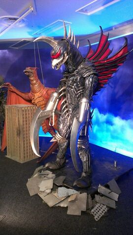 File:Great Godzilla 60 Years Special Effects Exhibition photo by Joseph Rouleau - FinalGigan 1.jpg