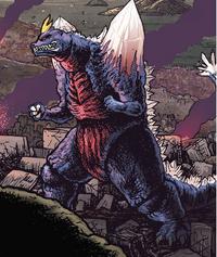 SpaceGodzilla in Godzilla in Hell