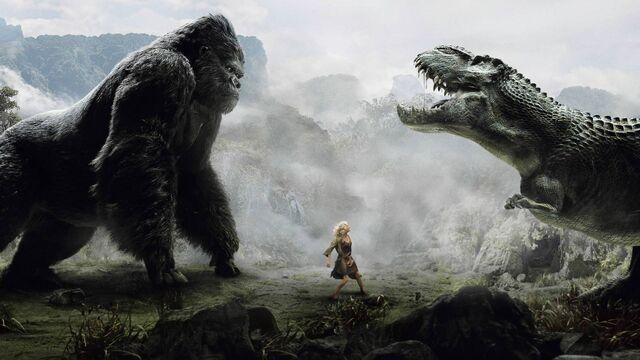 File:King Kong vs. V-Rex.jpg