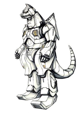 File:Concept Art - Godzilla Against MechaGodzilla - Kiryu 47.png