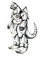 Concept Art - Godzilla Against MechaGodzilla - Kiryu 47