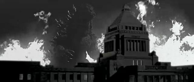 File:Godzilla vs. Megaguirus - Godzilla recreates Gojira 4.png