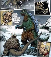 Fake Godzilla GRoE