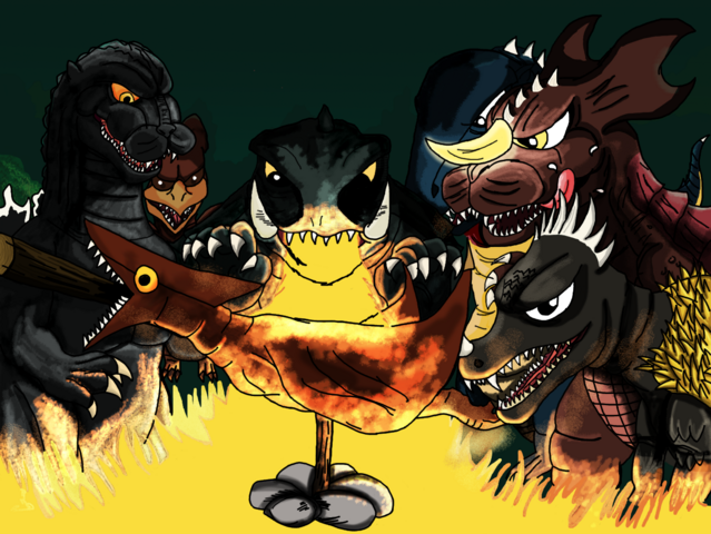 File:Kaiju roast completed happy bday kaijusamurai by asuma17-d6wqm4c.png