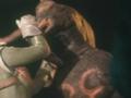 Go! Greenman - Episode 2 Greenman vs. Antogiras - 22 - Have some scalding black liquid!
