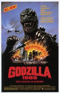 The Return of Godzilla Poster United States 1