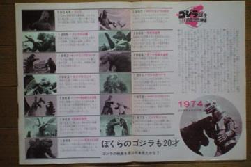 File:1974 MOVIE GUIDE - GODZILLA VS. MECHAGODZILLA thin pamphlet PAGES 2.jpg