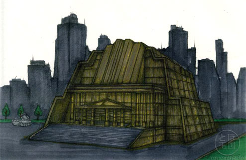 File:Concept Art - Godzilla Final Wars - Earth Defense Force Headquarters 1.png