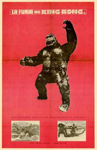 File:King Kong Se Escapa - Kingu Kongu No Gyakushû - King Kong Escapes -1968 - 01.jpg