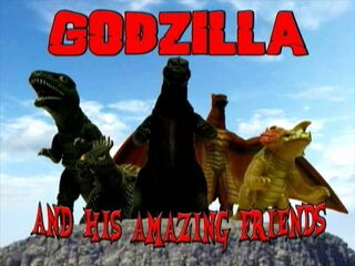Godzilla and his Amazing Friends S2 COVER