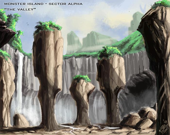 Godzilla Neo: Monster Island - The Valley