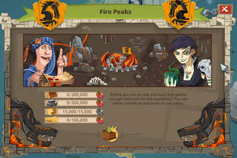 Fire peaks entry requirement 6k rubies