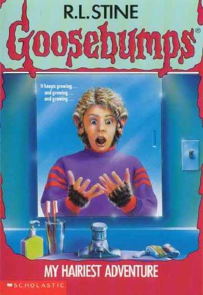 book report on goosebumps horrorland
