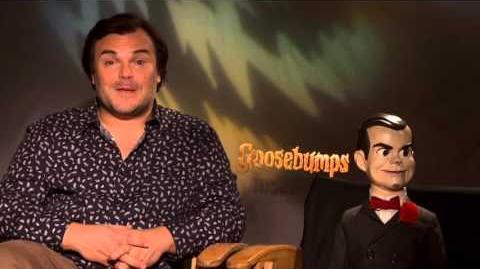 Goosebumps Jack Black & Slappy Official Movie Interview