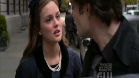 "Gossip Girl 2x13 Blair Chuck "" I love you! '"