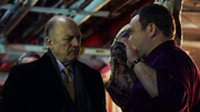 Don Falcone telling Butch to tell Fish that she has to ask his permission if she wanted to kill policemen