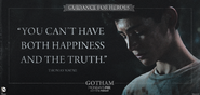 You Can't Have Both Happiness and the Truth - Guidance for Heroes