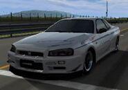 Mine's BNR34 SKYLINE GT-R '00