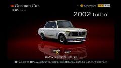 BMW 2002 Turbo '73